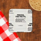 Prices. The facts. Since the war... Cork Coaster (Lifestyle)