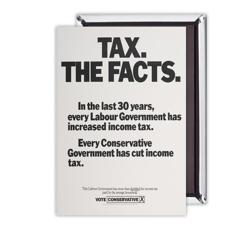 Tax. The facts. In the last 30 years.. Magnet