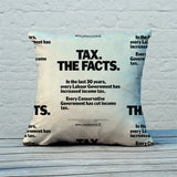 Tax. The facts. In the last 30 years.. Feather Cushion (Lifestyle)