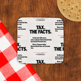 Tax. The facts. In the last 30 years.. Cork Coaster (Lifestyle)