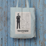 Labour says he's black Tories say he's British Long Handled Tote Bag (Lifestyle)
