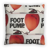 Foot pump Feather Cushion