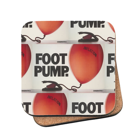 Foot pump Cork Coaster