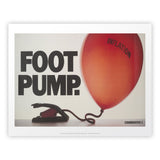 Foot pump Art Print