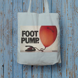 Foot pump Long Handled Tote Bag (Lifestyle)
