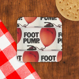 Foot pump Cork Coaster (Lifestyle)