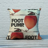 Foot pump Feather Cushion (Lifestyle)