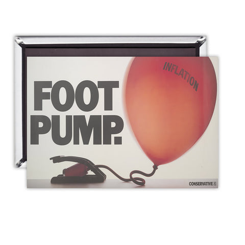 Foot pump Magnet