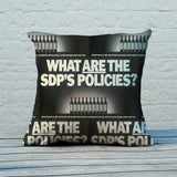 What are the SDP's policies? Feather Cushion (Lifestyle)
