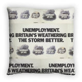 Unemployment Feather Cushion