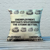 Unemployment Feather Cushion (Lifestyle)