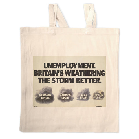 Unemployment Long Handled Tote Bag