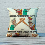 Labour Feather Cushion (Lifestyle)