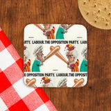Labour Cork Coaster (Lifestyle)