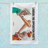 Labour Tea Towel (Lifestyle)