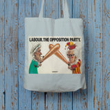 Labour Long Handled Tote Bag (Lifestyle)