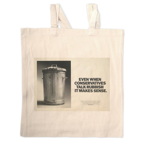 Even when Conservatives talk rubbish it makes sense Long Handled Tote Bag
