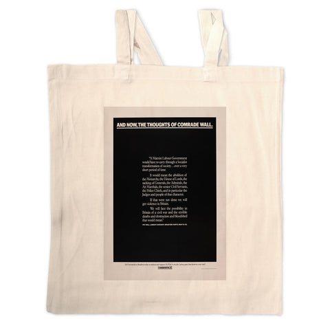 And, now, the thoughts of comrade wall Long Handled Tote Bag