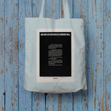And, now, the thoughts of comrade wall Long Handled Tote Bag (Lifestyle)