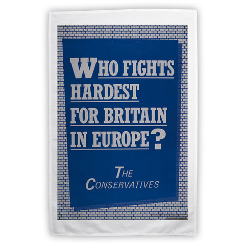 Who fights the hardest for Britain in Europe? Tea Towel