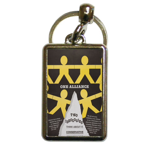 One Alliance Metal Keyring
