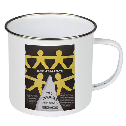One Alliance Enamel Mug