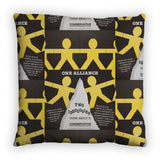One Alliance Feather Cushion