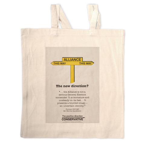 Alliance Long Handled Tote Bag