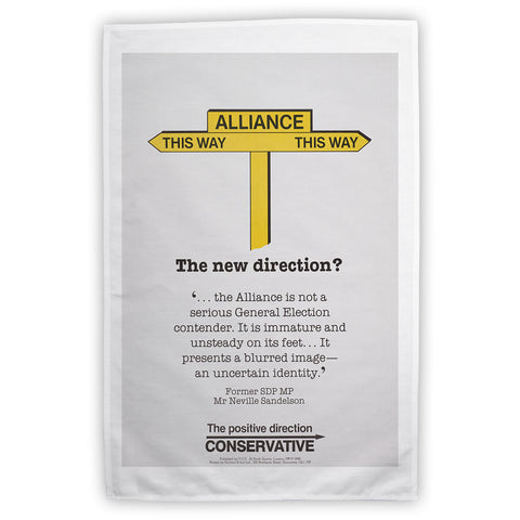 Alliance Tea Towel