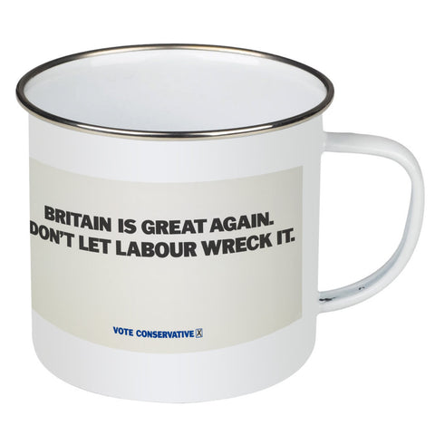 Britain is great again Enamel Mug