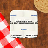 Britain is great again Cork Coaster (Lifestyle)
