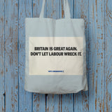Britain is great again Long Handled Tote Bag (Lifestyle)