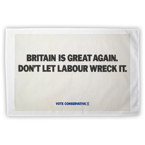 Britain is great again Tea Towel