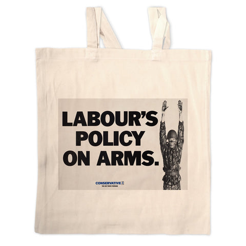 Labour's policy on arms Long Handled Tote Bag
