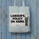 Labour's policy on arms Long Handled Tote Bag (Lifestyle)