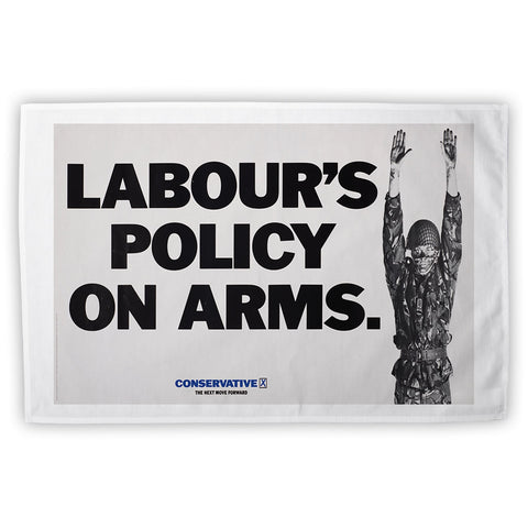 Labour's policy on arms Tea Towel