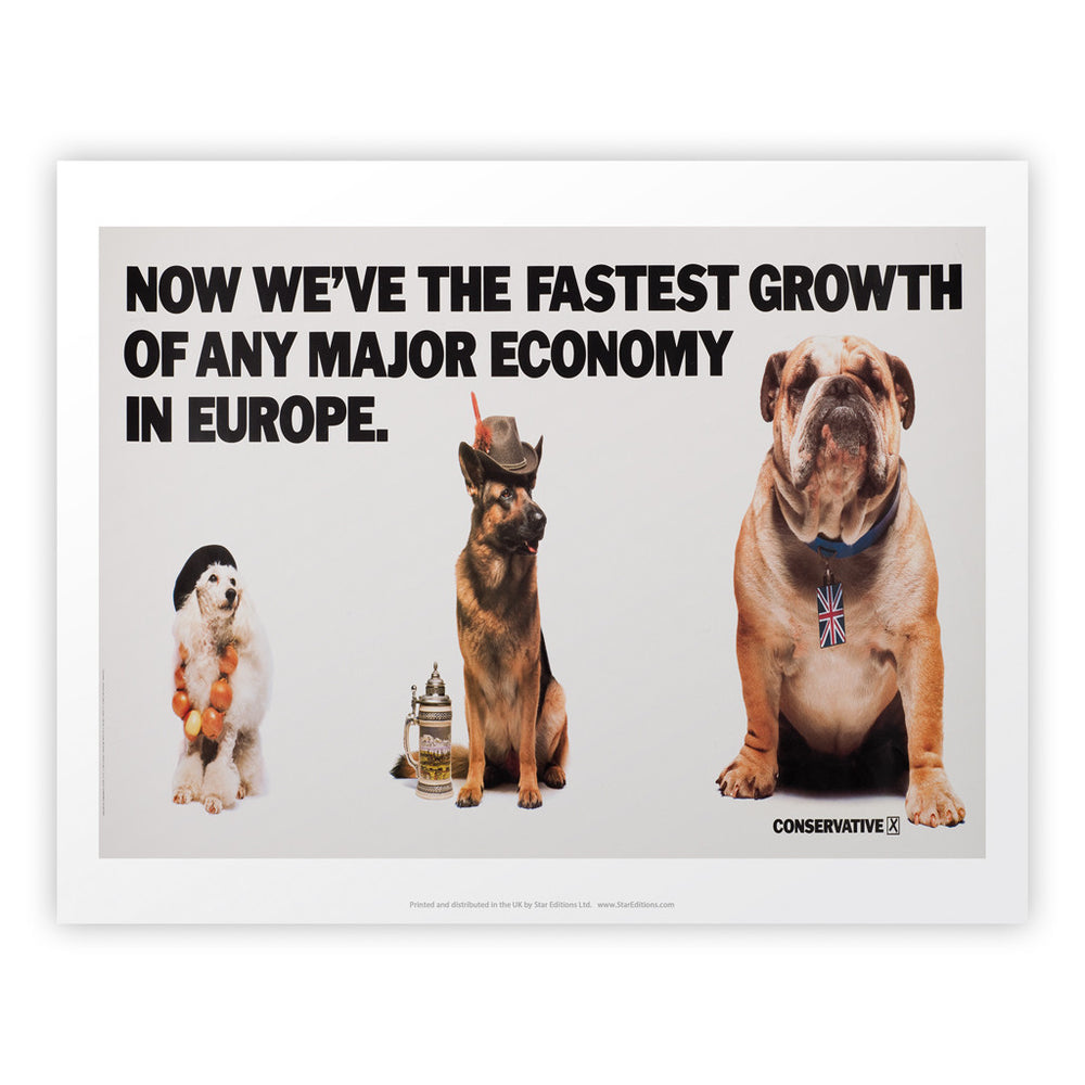 Now we're the fastest growth of any major economy in Europe Art Print