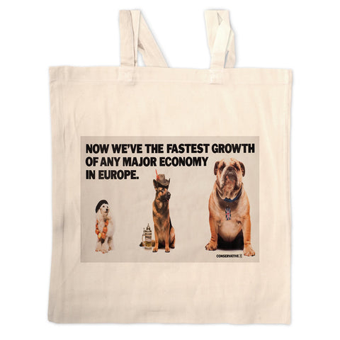 Now we're the fastest growth of any major economy in Europe Long Handled Tote Bag