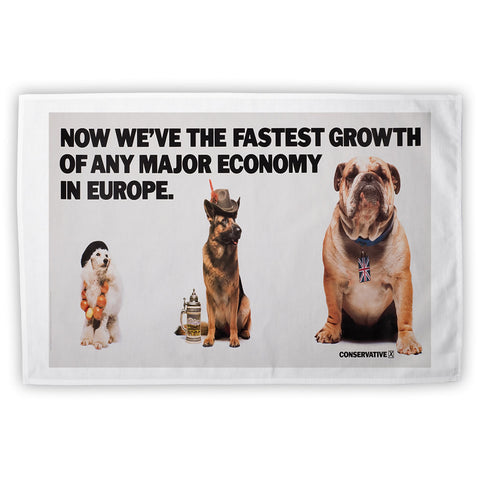 Now we're the fastest growth of any major economy in Europe Tea Towel