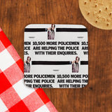 10,500 more policemen are helping the police with their enquiries Cork Coaster (Lifestyle)