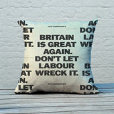 Britain is great again Feather Cushion (Lifestyle)