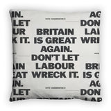 Britain is great again Feather Cushion