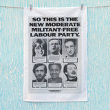 So this is the new moderate militant-free Labour Party Tea Towel (Lifestyle)