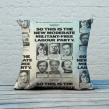 So this is the new moderate militant-free Labour Party Feather Cushion (Lifestyle)