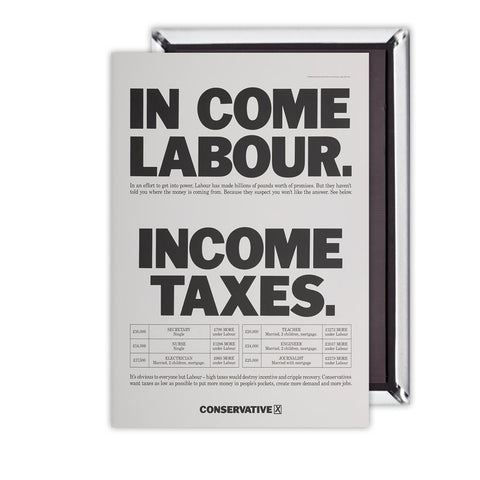 In come Labour. Income taxes Magnet