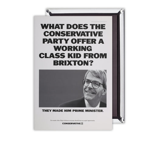 What does the Conservative Party offer a working class kid from Brixton? Magnet