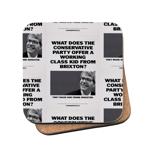 What does the Conservative Party offer a working class kid from Brixton? Cork Coaster