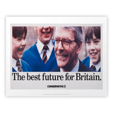 The best future for Britain Art Print