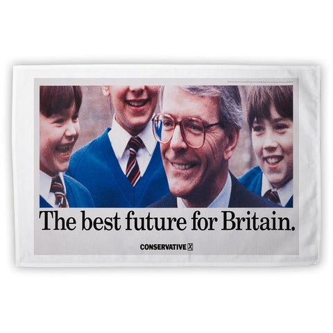 The best future for Britain Tea Towel