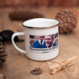 The best future for Britain Enamel Mug (Lifestyle)